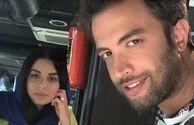 بنیامین بهادری و همسرش شایلی محمودی