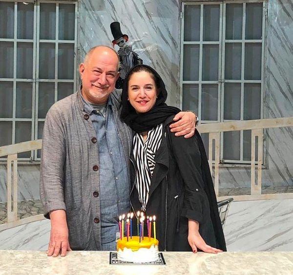 آتیلا پسیانی و دختر بازیگرش در جشن تولد+عکس