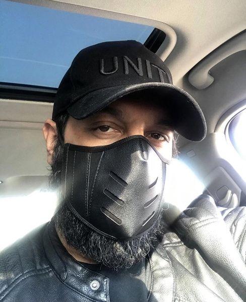 ماسک متفاوت کامران تفتی + عکس