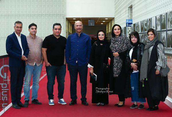 دورهمی بازیگران معروف در سینما چارسو+عکس