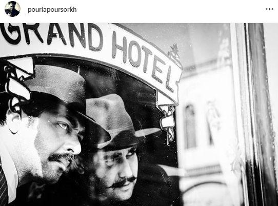 دو بازیگر مشهور در گرند هتل + عکس