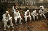 افزایش تلفات آتش سوزی در کالیفرنیا
