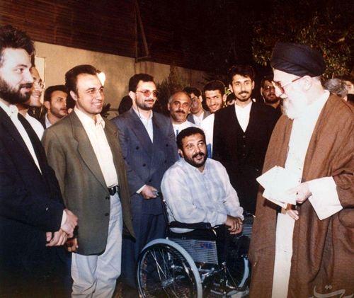 عکس قدیمی بازیگران در کنار رهبر انقلاب