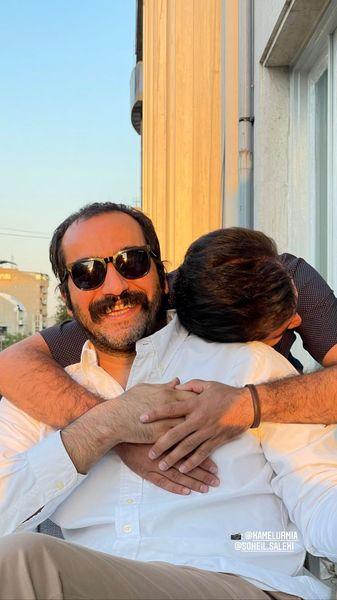 عاشقانه های سجاد افشاریان و دوستش + عکس