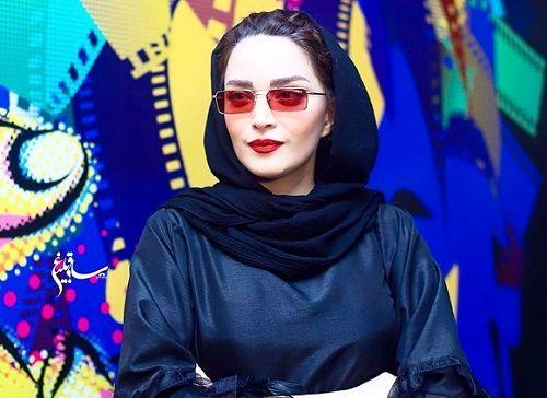 بهنوش طباطبایی در جمع عکاسان سینما+عکس