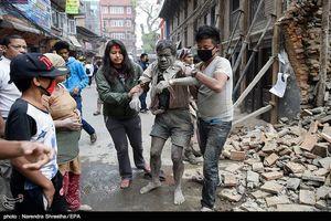 وقوع زلزله ۷.۹ ریشتری در نپال