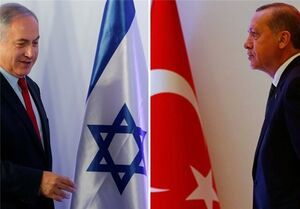 عادی سازی روابط ترکیه و اسرائیل علیه ایران
