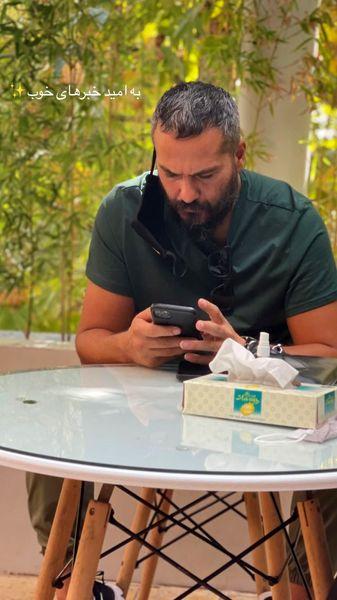 میلاد کی مرام در کافه ای معمولی + عکس