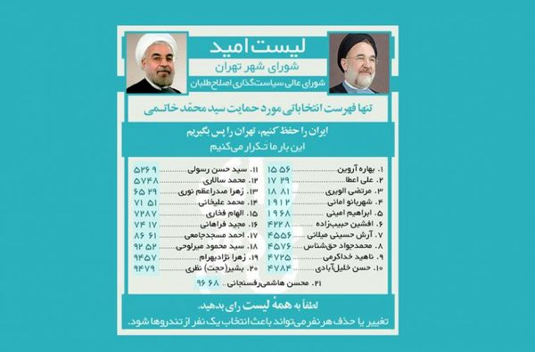 کارنامه اصلاح طلبان در مدیریت شهری تهران چیست؟