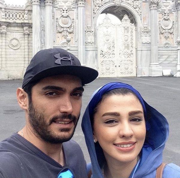 سیما خضرآبادی و همسرش + عکس