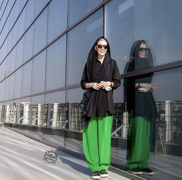 استایل متفاوت فرشته حسینی + عکس