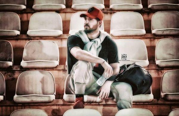 دانیال عبادی در ورزشگاه + عکس