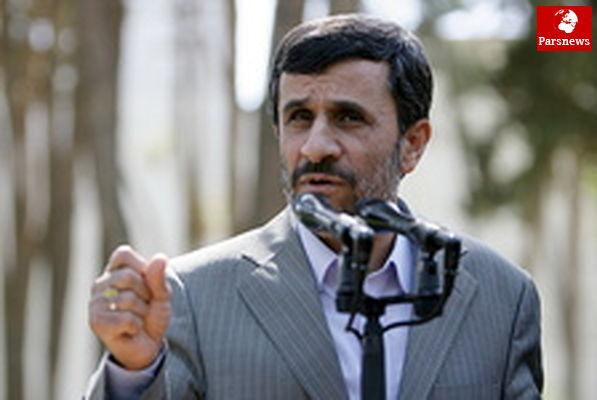 احمدی نژاد: مستکبران باید به سمت فرهنگ بهار بیایند