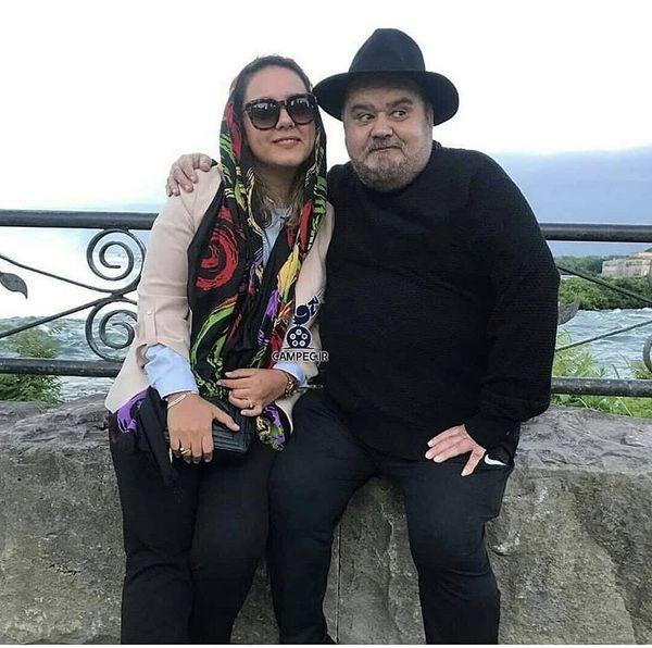 اکبر عبدی و دختر بزرگش + عکس