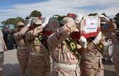 تشییع پیکر خلبان سقوط هواپیمای آموزشی