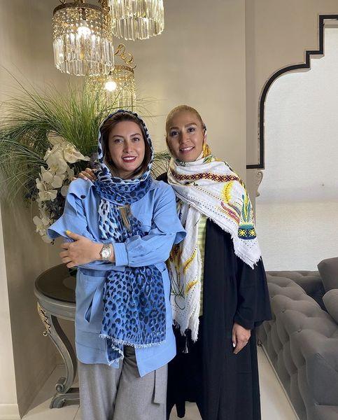 فریبا نادری در یک سالن زیبایی + عکس