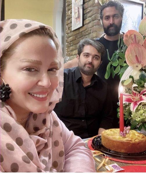 بهاره رهنما و همسرش در یک تولد + عکس