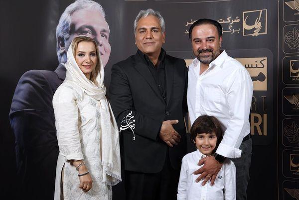 ست کردن برزو ارجمند و خانواده اش+عکس