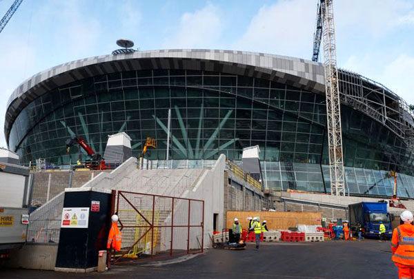 زمان افتتاح ورزشگاه جدید تاتنهام مشخص شد
