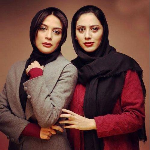 ست کردن هنری خواهران فرجاد+عکس