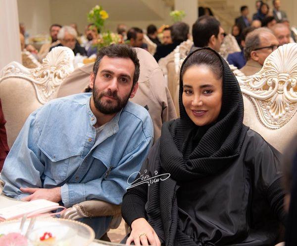 نیما شعباننژاد در کنار خانم بازیگر + عکس