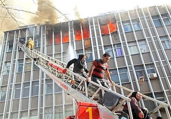 رونمایی از ۶ نردبان بلندمرتبه آتشنشانی تهران