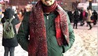 مهرداد صدیقیان در خیابان های خوش آب و رنگ اروپا + عکس