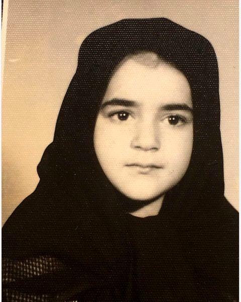کودکی های نعیمه نظام دوست + عکس