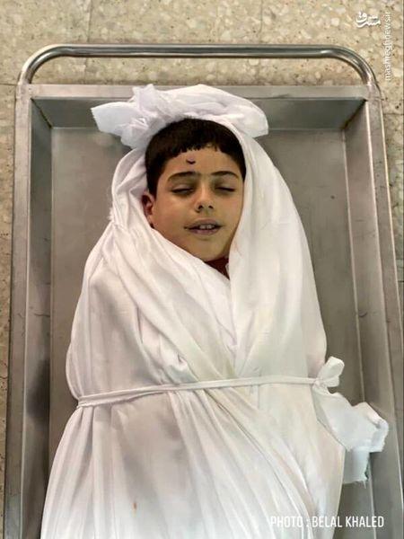 لبخند کودک شهید فلسطینی+عکس