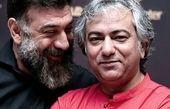 عکس دوستانه و سرحال علی انصاریان و محمدرضا هدایتی