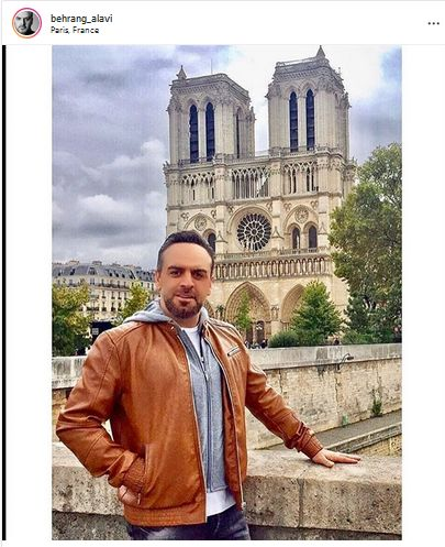سفر بهرنگ علوی به فرانسه + عکس