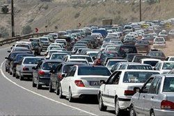 ترافیک پرحجم و نیمه سنگین در ورودیهای تهران