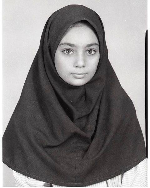 یکتا ناصر در دوران مدرسه + عکس