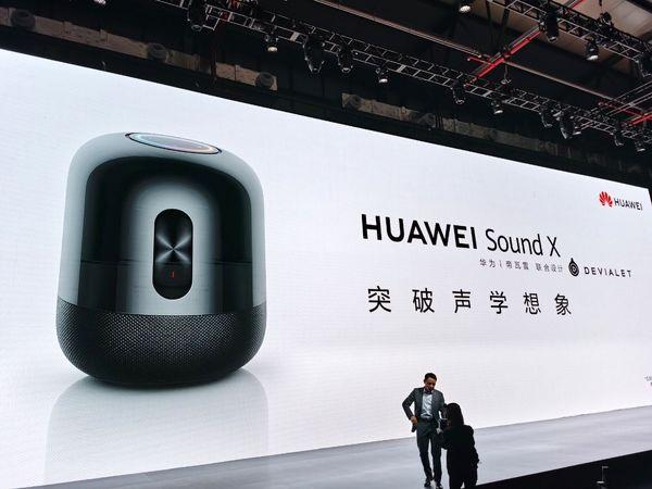 هوآوی از اسپیکر هوشمند خود با نام Sound X رونمایی کرد