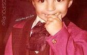 عکس دیدنی از کودکی مجری جنجالی تلویزیون