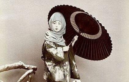 حجاب زمستانی زنان ژاپنی+ تصاویر