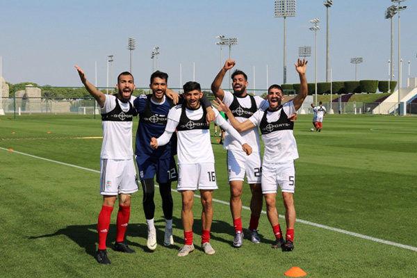 تصاویری از تمرین امروز تیم ملی فوتبال ایران در قطر