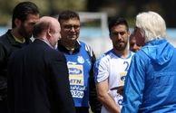 ملکی:بیشتر بازیکنان قرارداد دارند و ماندن جباروف را هم نهایی کردهایم