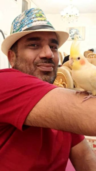 پرنده بامزه نصرالله رادش + عکس