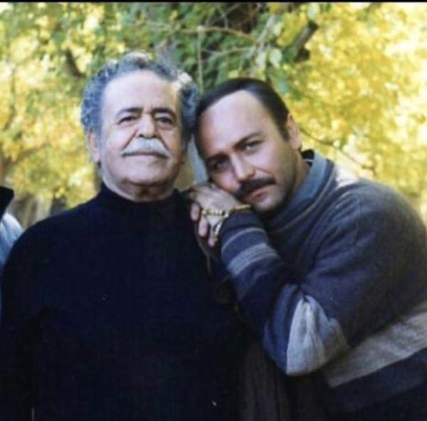 خاطره بازی کیهان ملکی با مرحوم محمدعلی کشاورز + عکس