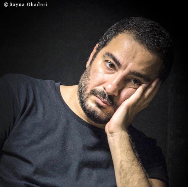 نوید محمدزاده غرق در افکارش + عکس