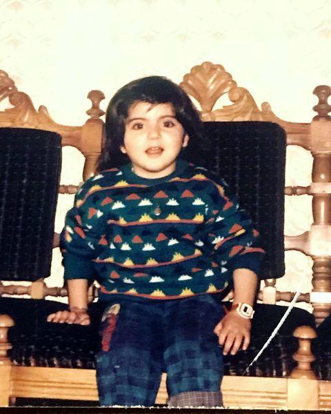 هلیا امامی در کودکی + عکس