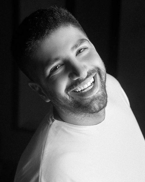 خنده های زیبای زانیار خسروی + عکس