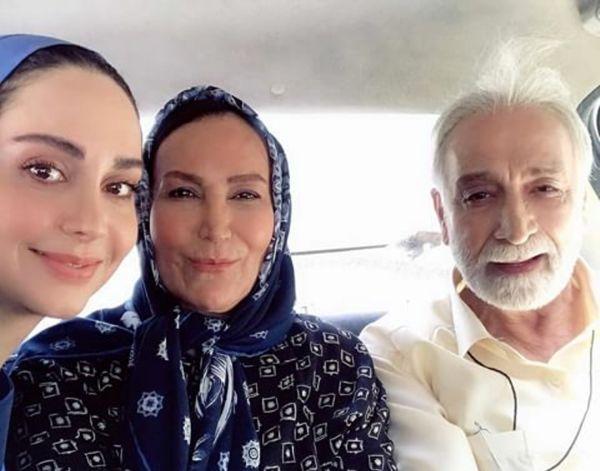 خانم دکتر ستایش در کنار زوج هنرمند محبوب+عکس