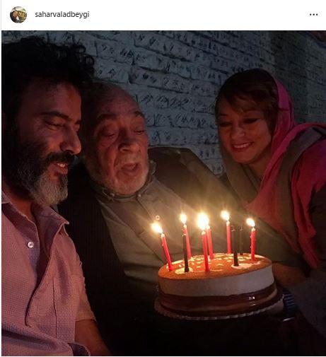 سحر ولدبیگی و همسرش در جشن تولد+عکس