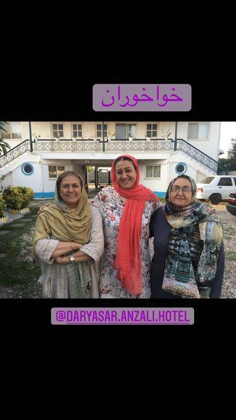 فاطمه هاشمی و خواهرانش + عکس
