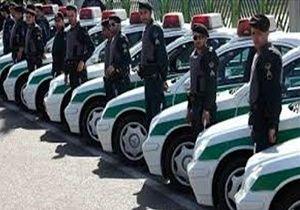 تأمین امنیت مراسم نماز عید فطر توسط یگان امداد پلیس پایتخت