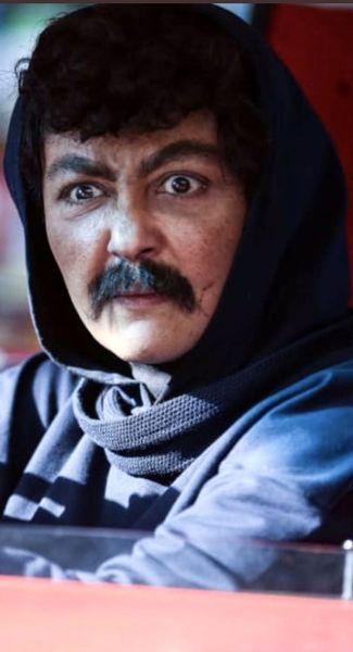 گریم عجیب شقایق فراهانی + عکس
