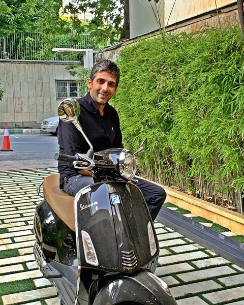 موتورسواری حمیدگودرزی + عکس