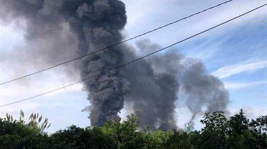 مهر آتشسوزی در خط لوله نفت عراق به لبنان